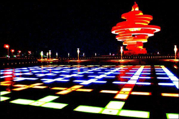 """途经""""万国建筑博览会""""—八大关,游琴屿飘灯的—小青岛15元(30分钟)"""