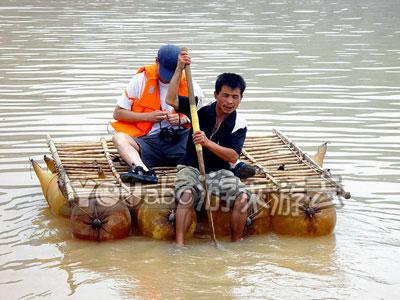 黄河漂流——羊皮筏子