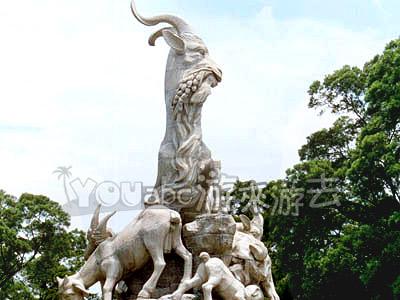 广州五羊雕像 - 地理风光