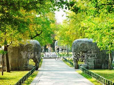 南京明孝陵神道