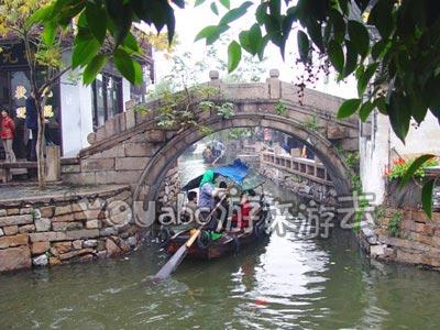 周庄古镇的太平桥