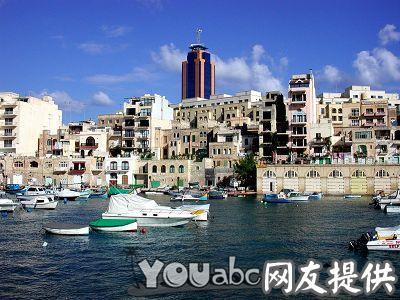马耳他海港风景