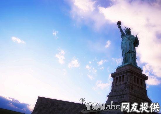 美国的标志:自由女神像