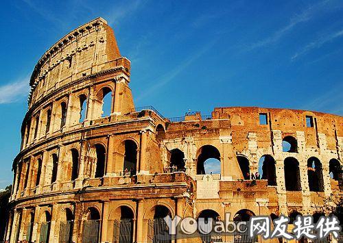 大名鼎鼎的罗马斗兽场