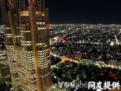夜色下的东京