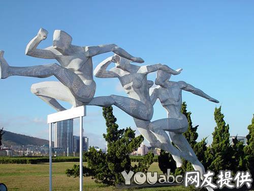 发现王国公园雕塑