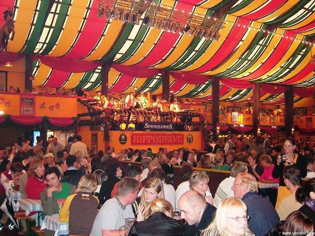 慕尼黑啤酒狂欢节