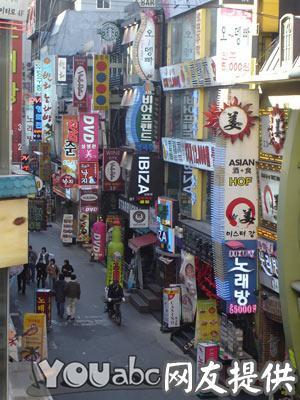 Jongno钟路年轻人的地方