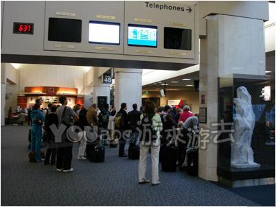 sf国际机场大厅